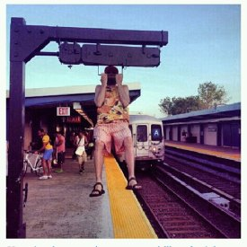 How about I PULL UP while I wait for the train to pull up? Joshwa M. of Brooklyn, NY
